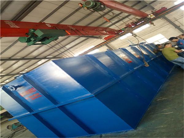 印染紡織廢水處理設備具體流程說明