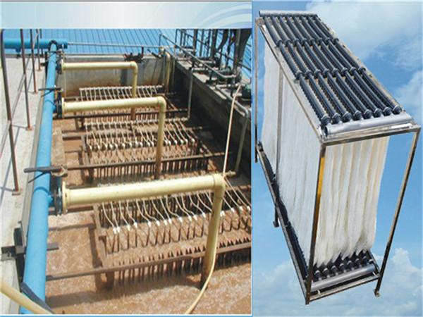 污水处理中MBR膜具有哪些优点?