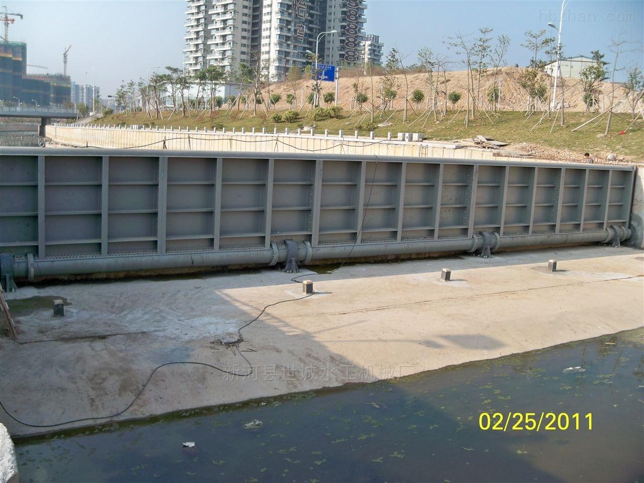 PZ-河道景观闸门生产设计安装一体厂家