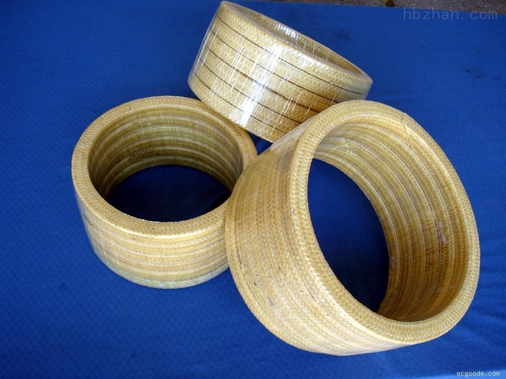 耐磨芳纶盘根环/泵轴用芳纶纤维盘根