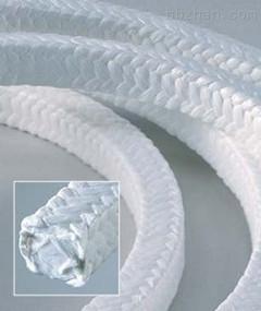 耐高温白四氟盘根环、四氟填料环生产厂家