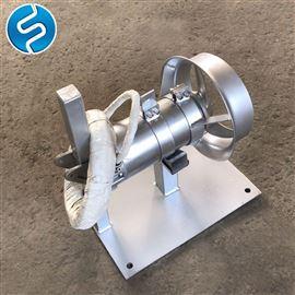 QJB0.55/4-230/3-14001500L搅拌 0.75kw立式液体搅拌机