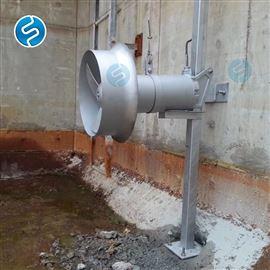 QJB7.5/4-2500/2-63潜水搅拌机钢丝绳安装图
