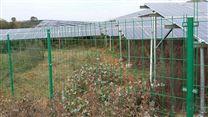 围栏用于内蒙新疆宁夏大型光伏发电场区