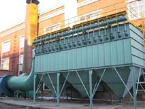 CNMC逆流脈沖反吹袋式除塵器的特點