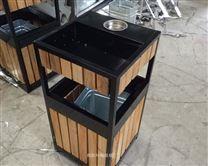供应海阳市钢木、金属、户外垃圾桶