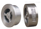 H71W.不锈钢对夹式止回阀