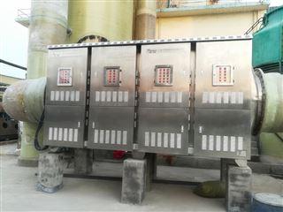 淮安榨油厂的废气处理设备