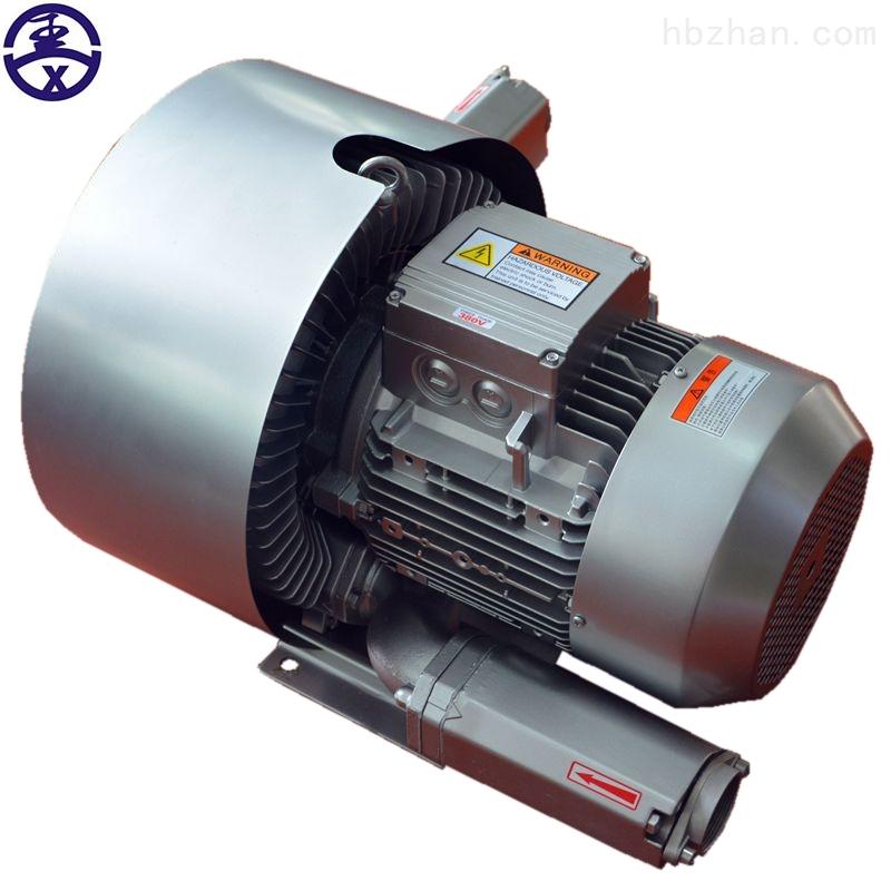 5.5kw双叶轮高压鼓风机 双段式高压风机