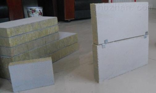 竖丝外墙岩棉复合板