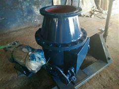 Q648MX DN300非标阀球面偏置气动钟阀