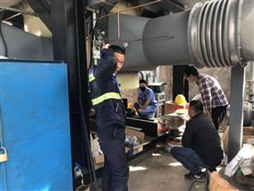 印染定型机废气净化装置