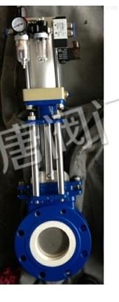 碳钢气动陶瓷刀闸阀