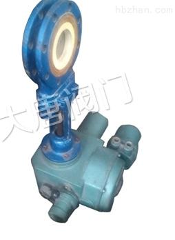 电动陶瓷刀闸阀碳钢