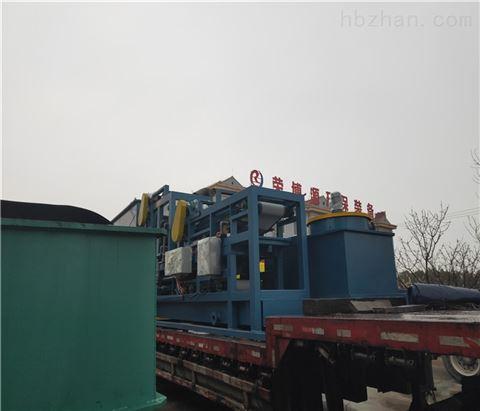 网带式污泥脱水机主要由八个部分组成