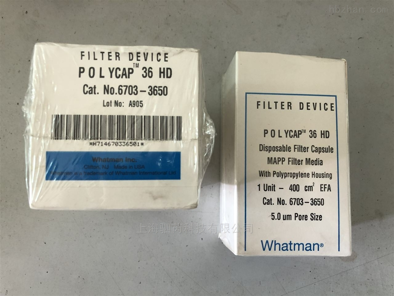 whatman6703-3650囊式过滤器