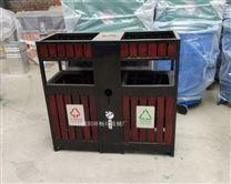 古建筑园林垃圾桶 木艺垃圾箱