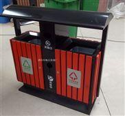 户外热销款垃圾箱 现货生态木垃圾桶供应