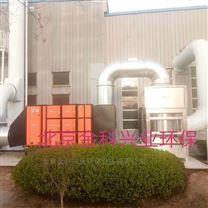 鑄塑,橡膠造粒廠油煙廢氣凈化處理