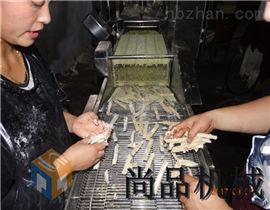 SPGJ-300郑州地瓜条挂浆机裹浆效果怎么样
