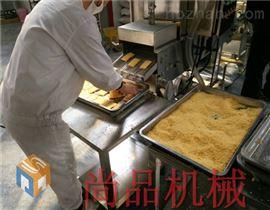 玉泉玉米饼裹糠机 全自动上面包糠机图片