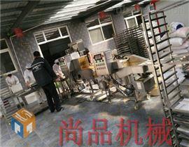 全自动南瓜球上浆裹糠机生产线拼团开始