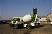 混凝土搅拌车建筑工地1.6方搅拌运输罐车