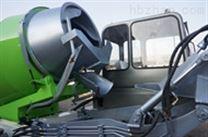 0.8方装载机式搅拌机 自上料混凝土搅拌车