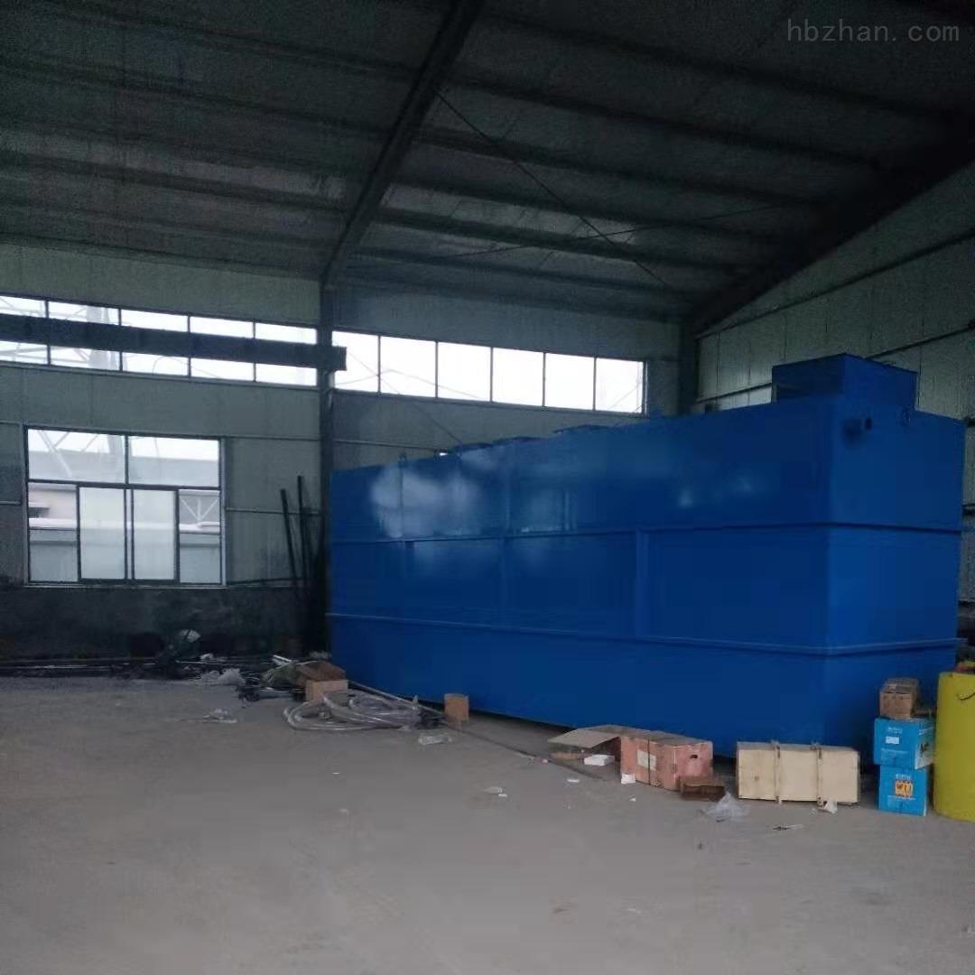 枣庄水泉镇卫生院10T污水地埋一体化设备