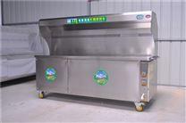 新疆过环保商用无烟烧烤车,环保高效
