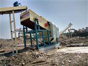蓝基建筑垃圾处理设备为垃圾打开市场