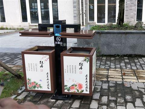 厂家直销郑州市户外环卫垃圾桶