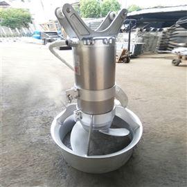 缺氧池低速推流潜水搅拌器
