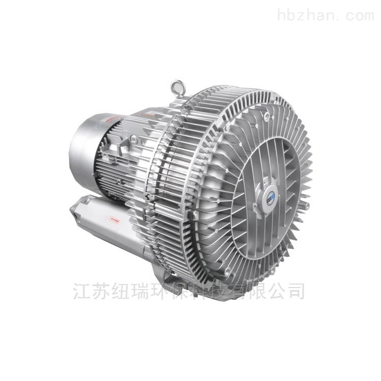 双叶轮高压风机压铸铝