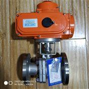 潜水型IP68电动不锈钢法兰球阀FSQ941F-16P