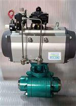 氣動高溫高壓硬密封焊接球閥Q661Y-320C