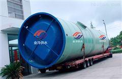 长沙一体化泵站10000立方1.5m*5.5m
