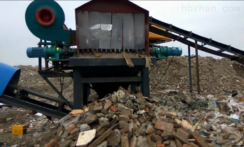 垃圾重新利用建筑垃圾粉碎机是主要设备