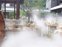 花园园林森林喷雾造景,水雾仙境打造