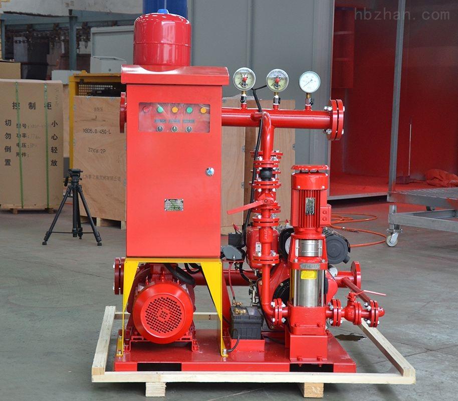 小型双动力柴油机消防泵组
