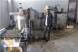 SOCD-1200哪里有卖蚕豆油炸机生产线的