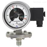 PGS43.100, PGS43.160带开关电接点的膜片式压力表