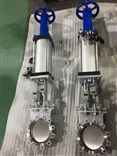 PZ6S73W气动带手动不锈钢刀型闸阀