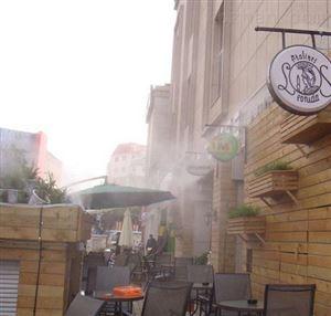 深圳露天餐厅喷雾除臭消毒设备