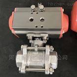 Q611F气动不锈钢内螺纹球阀