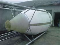 江苏沭阳玻璃钢饲料塔传动流畅平稳
