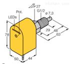 FCS-GL1/2A4P-VRX/230VAC紧凑型德国图尔克TURCK流量传感器