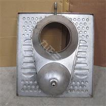 粪尿分集式不锈钢蹲便器 隔离效果好