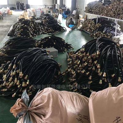 BNG20*700,3/4NP不锈钢编织丝防爆绕线管