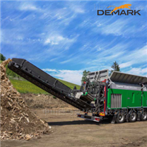 園林垃圾破碎機 城市清障減容移動粉碎機